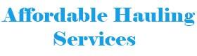 Affordable Hauling Services, Junk Car company near me Marietta GA