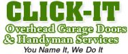 CLICK-IT Overhead Garage Doors Repair & Spring Replacement Round Lake Beach IL