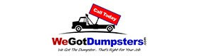 We Got Dumpsters, Construction Dumpster rental cost Richmond VA